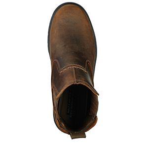 Skechers Relaxed Fit Segment Dorton Men's Slip-On Ankle Boots