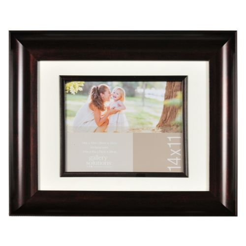 8 x 10 Matted Scoop Frame