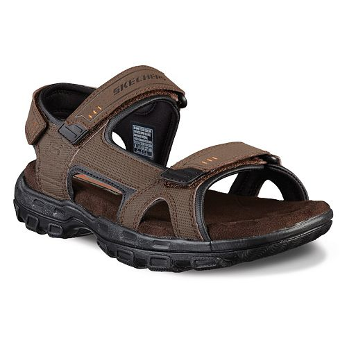 b4e5cd5da4f8 Skechers Relaxed Fit Gander Louden Men s Sport Sandals
