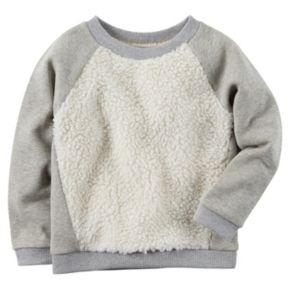 Girls 4-8 Carter's Sherpa Sweatshirt