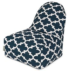 Majestic Home Goods Trellis Indoor Outdoor Kick-It Chair