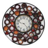 Circles Within Circles Wall Clock