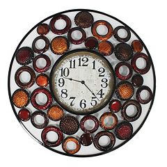 Circles Within Circles Wall Clock