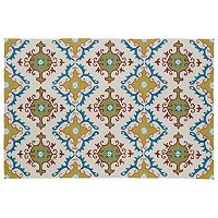 Kaleen Home & Porch Fiesta Tile Indoor Outdoor Rug