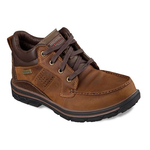 Skechers® Relaxed Fit Segment Melego Men's Waterproof Chukka Boots