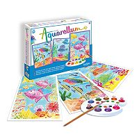 Aquarellum Large Coral Reefs Paint Set by SentoSphere USA