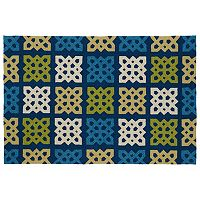 Kaleen Home & Porch Tile Indoor Outdoor Rug