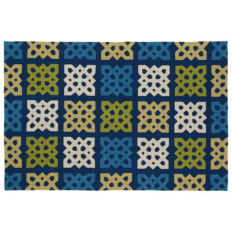 Outdoor water resistant rug kohl 39 s for Water resistant outdoor rug