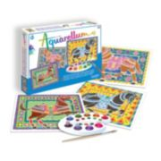 Aquarellum Large Horses Paint Set by SentoSphere USA