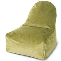 Majestic Home Goods Villa Fern Kick It Bean Bag Chair