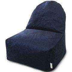 Majestic Home Goods Villa Fern Kick It Bean Bag Chair