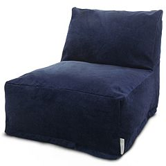 Majestic Home Goods Villa Bean Bag Chair Lounger