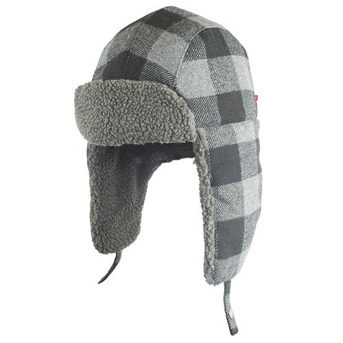 4a7702a564b9d Men s Levi s® Buffalo Plaid Wool-Blend Trapper Hat