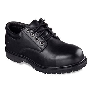 Skechers Work Relaxed Fit Cottonwood Elks SR Men's Non-Slip Work Shoes