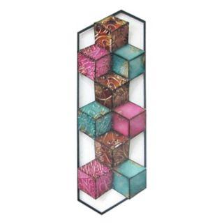 Colorful Multi Cubes II Wall Decor