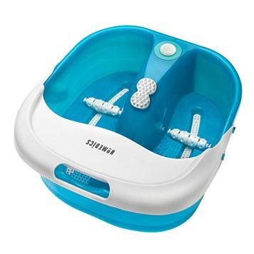 HoMedics Bubble Spa Pro Footbath with Heat Boost Power