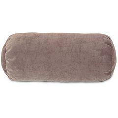 Majestic Home Goods Villa Round Bolster Pillow