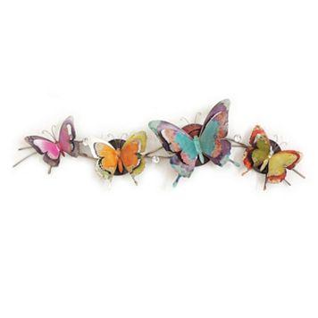 Glowing Butterflies Wall Decor