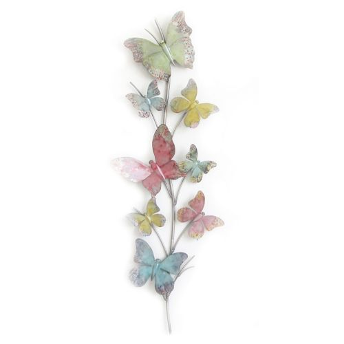 Colorful Butterflies Wall Decor