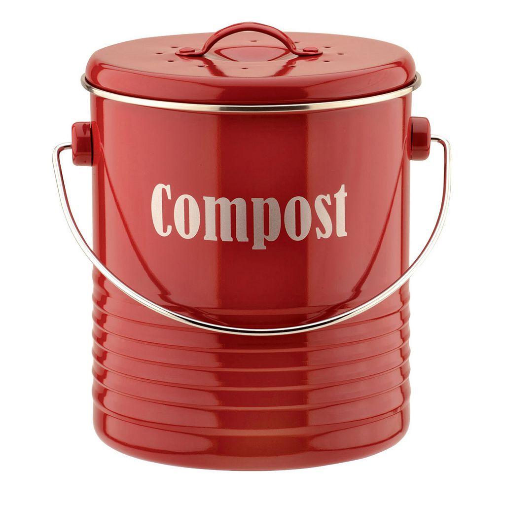 Typhoon Vintage Kitchen 3-qt. Compost Caddy
