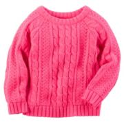 Carter's Cable Knit Sweater - Girls 4-8