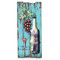 Distressed Wine Wall Decor