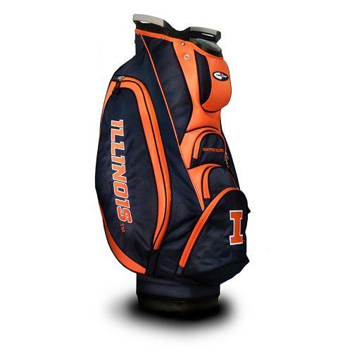 Team Golf Illinois Fighting Illini Victory Cart Bag