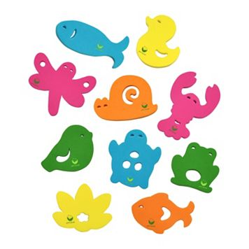 Green Sprouts by i play. 10 pk. Pond Bath Toys