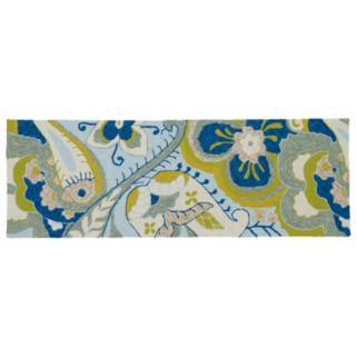 Kaleen Home and Porch Floral Paisley Indoor Outdoor Rug