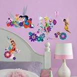 Disney Fairies Friends Peel & Stick Wall Decals