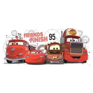 Disney / Pixar Cars 2 Friends to the Finish Peel & Stick Wall Decals