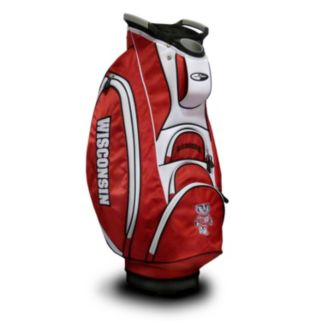 Team Golf Wisconsin Badgers Victory Cart Bag