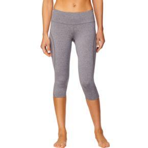 Women's Shape Active Tru S-Seam Compression Capri Workout Leggings