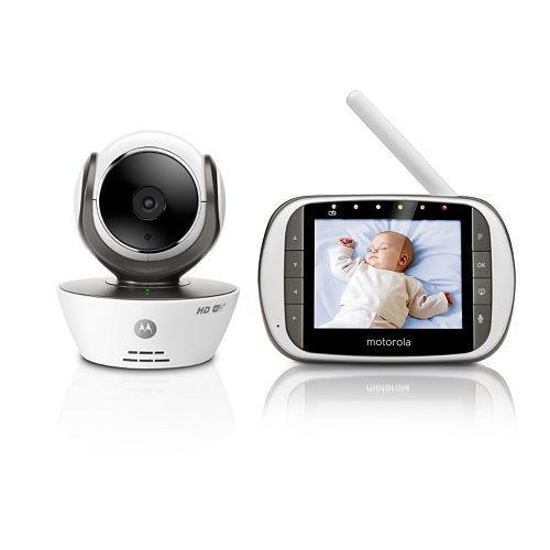 Motorola MBP853 Connect HD WiFi Video Baby Monitor