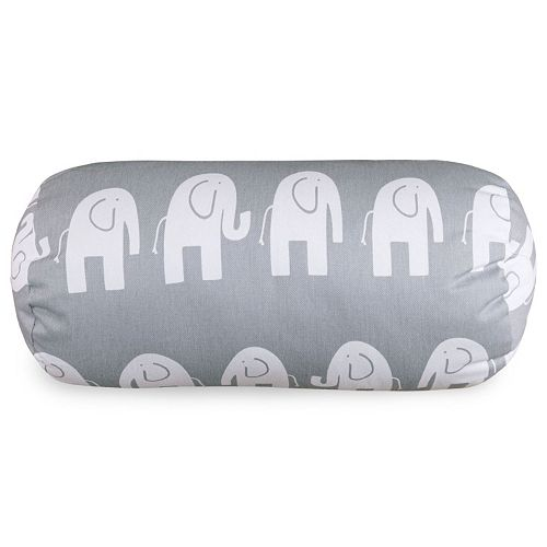 Majestic Home Goods Ellie Round Bolster Pillow