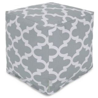 Majestic Home Goods Indoor Outdoor Small Cube Ottoman