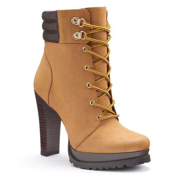 Jennifer Lopez Women S Platform High Heel Ankle Boots