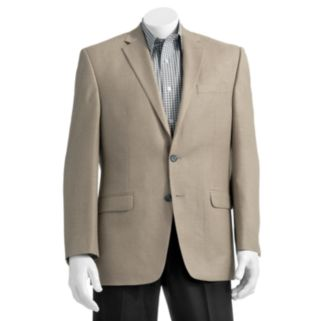 Big & Tall Chaps Classic-Fit Solid Stepweave Suit Jacket