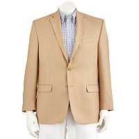 Big & Tall Chaps Herringbone Blazer