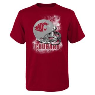 Boys 8-20 Washington State Cougars Helmet Tee