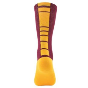 Women's Mojo Central Michigan Chippewas Champ 1/2-Cushion Performance Crew Socks