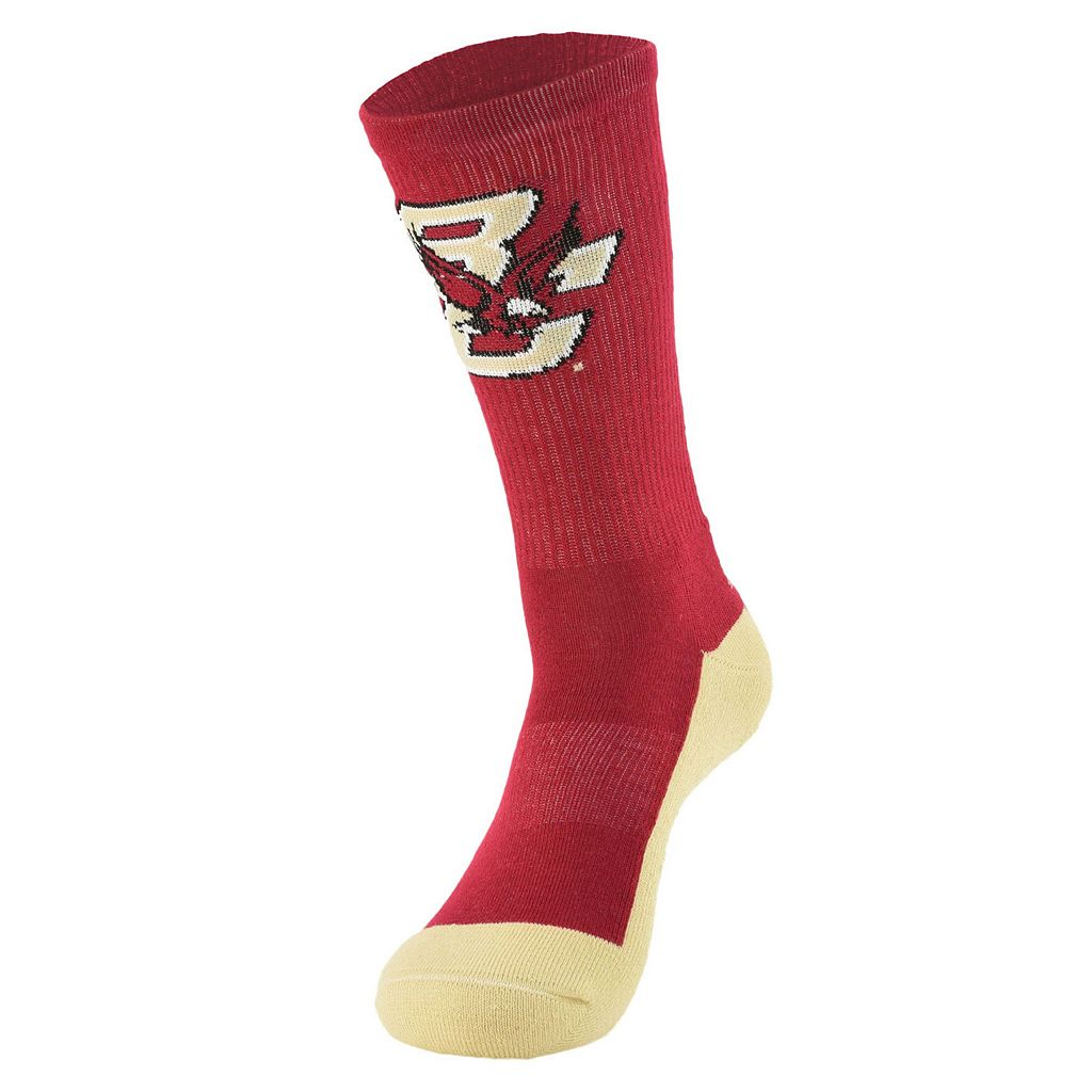 Women's Mojo Boston College Eagles Champ 1/2-Cushion Performance Crew Socks