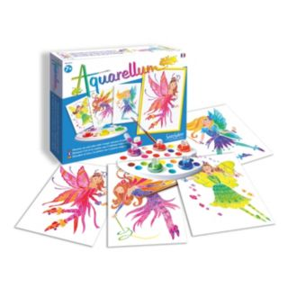 Aquarellum Junior Fairies Paint Set by SentoSphere USA