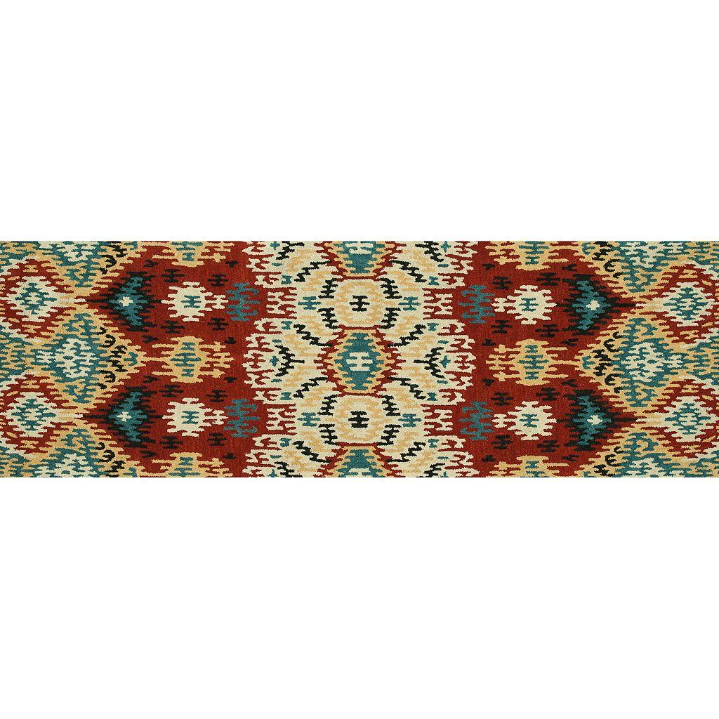 Loloi Leyda Zigzag Ikat Wool Rug