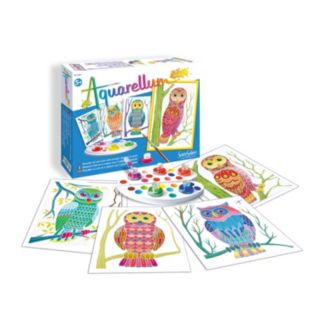 Aquarellum Junior Owls Paint Set by SentoSphere USA