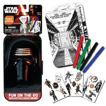 Star Wars: Episode VII The Force Awakens Kylo Ren Fun On The Go Kit