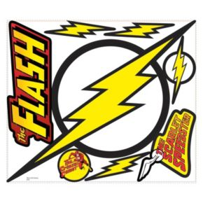 The Flash Logo Peel & Stick Giant Wall Decals