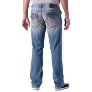 Men's Seven7 Thick Stitch Back Flap Straight Jeans