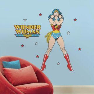DC Comics Wonder Woman Peel & Stick Giant Wall Decals