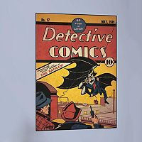 Batman Issue 1 Peel & Stick Comic Cover Wall Decal